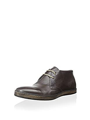 Modern Fiction Men's Midtop Sneaker (Dark Brown)