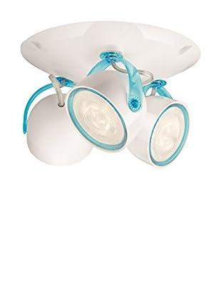 Philips Lámpara De Techo LED Dyna Blanco / Azul
