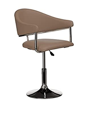 Premier Houseware  Stuhl 2er Set 2402620 braun