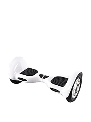 BALANCE RIDERS Skateboard Elettrico Hoverboard S10 Bianco