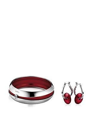 Breil Conjunto de brazalete y pendientes Secretly - 6.5 cm