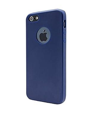 UNOTEC Hülle Second Skin iPhone 5/5S/Se blau