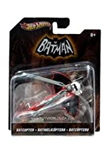 BATCOPTER * 1966 BATMAN TV SERIES * Hot Wheels 1:50 Scale 2012 Batman Series Vehicle