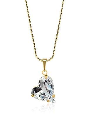 Swarovski Elements by Philippa Gold Halskette Crystal Heart