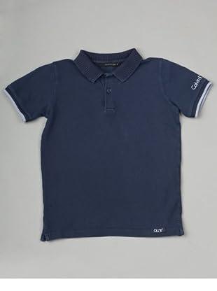 Calvin Klein Jeans Jungen Shirt/ Poloshirt CBP200 J4R35 (Dunkelblau)