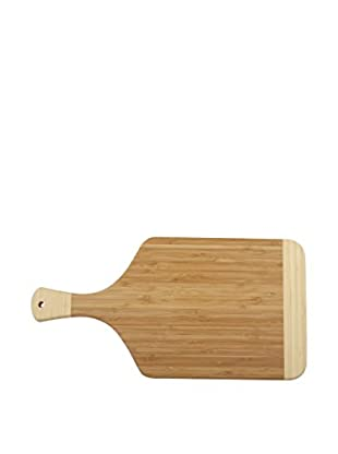 Core Bamboo Peony Paddle Collection Cutting Board (Brown)