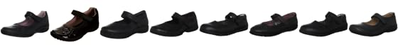 Geox Kids J Shadow B Leather School Shoe