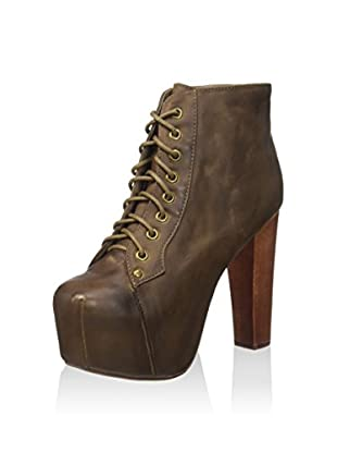 Jeffrey Campbell Stivaletto Stringato Litather