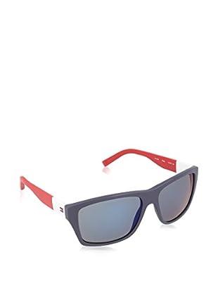 Tommy Hilfiger Gafas de Sol 1193/S 23FOD58 (58 mm) Azul Marino / Rojo