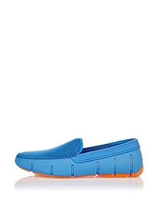 Swims Náuticos Flat Loafer (Azul)