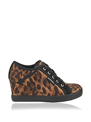 DIESEL Zapatillas Cuña Print Animal