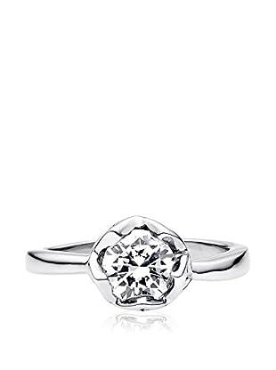 steel art Ring Solitär