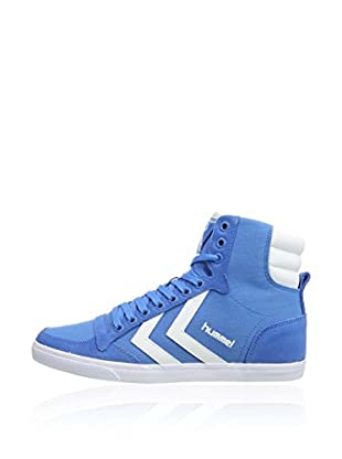 Hummel Sneaker Slimmer Stadil High (blau)