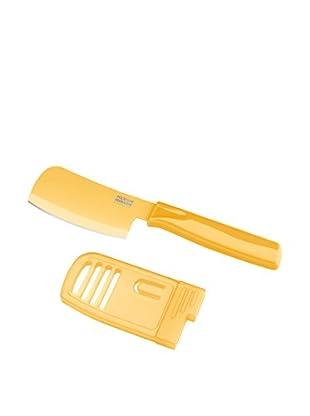 Kuhn Rikon Minihackbeil/Käsemesser Colori® gelb
