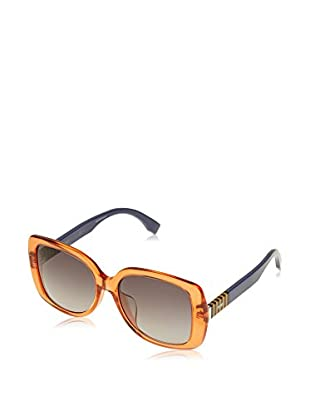 Fendi Occhiali da sole 0014/F/S_7TC (56 mm) Arancione