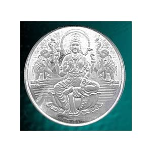 Pure Silver Coin of 1 Grams of 999 purity