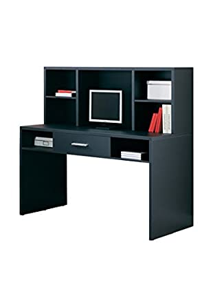 Organize It All Dusk Writing Desk, Black