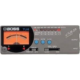 BOSS_TU-8_ギター/ベース用チューナー