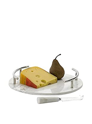 Round Cheeseboard and Knife Set