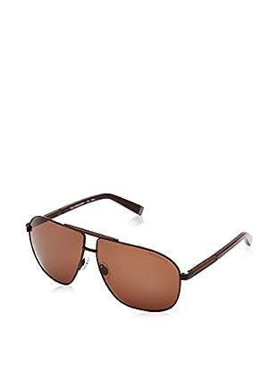 Trussardi Gafas de Sol 12906_BR-64 (64 mm) Marrón Oscuro