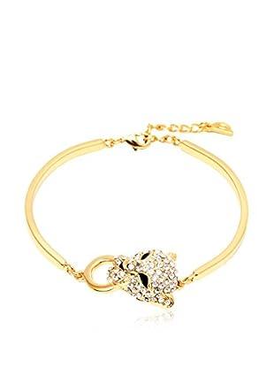Sevil Leopard Swarovski Elements Bracelet
