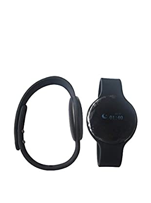 Bluetooth Smartwatch with Silicone Strap, Black