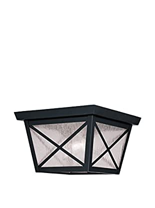 Crestwood Madelynn 2-Light Ceiling Mount, Black