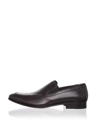 a.testoni BASIC Men's Apron-Toe Loafer (Moro)