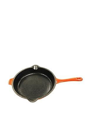 BergHOFF Neo 10-Inch Cast Iron Fry Pan, Orange