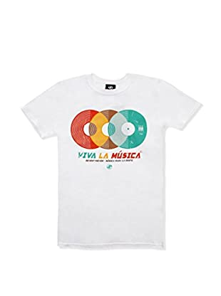 SEVENTYSEVEN Camiseta Manga Corta Viva La Musica