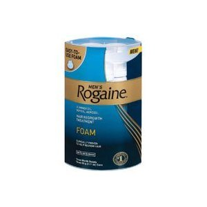 Rogaine Mens Regrowth Foam 5% Unscented 3 Month