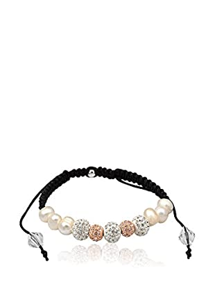Chicstyle Armband schwarz/weiß/rosa