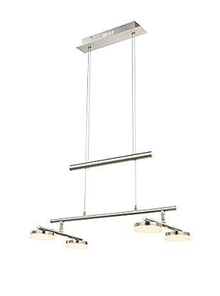 WOFI Pendelleuchte LED Hook metall/chrom