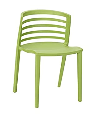 Modway Curvy Dining Side Chair, Green