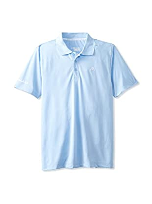 HEAD Men's Core Performance Polo (Placid Blue)