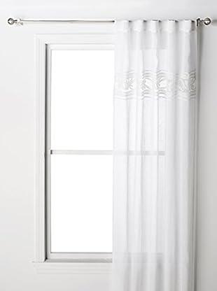Pom Pom at Home Curtain Panel Amelie LV, White