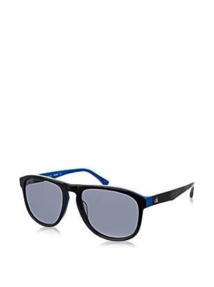 Calvin Klein Occhiali da sole 4257S-013 (55 mm) Nero/Blu Scuro