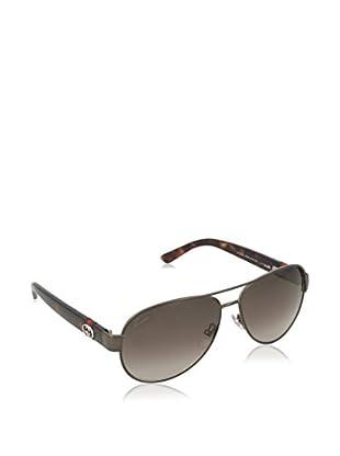 GUCCI Sonnenbrille 4282/S HA OPZ (65.4 mm) (58 mm) gunmetal/havanna