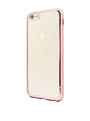 NUEBOO Hülle TPU Gel iPhone 6/6S Color Frame rosa