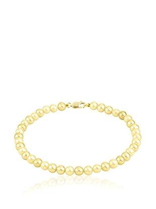 Compagnie générale des perles Pulsera  Nácar / Oro