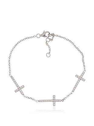 Córdoba Jewels Armband rhodiniertes Silber 925