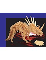 Wooden 3D Styracosaurus Puzzle/Large Dinosaur Puzzle