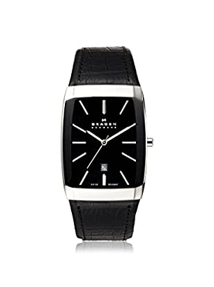 Skagen Men's 984LSLBB Black Label Stainless Steel Watch