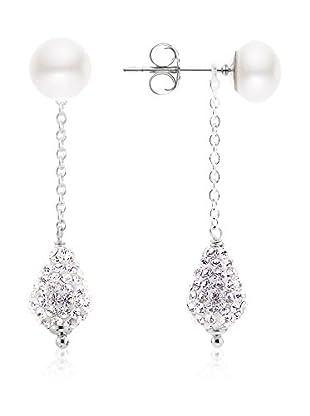 Manufacture Royale des Perles du Pacifique Pendientes  plata de ley 925 milésimas rodiada