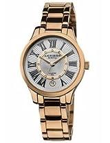 Akribos Diamond Rose Gold-Tone Steel Ladies Watch Ak570Rg