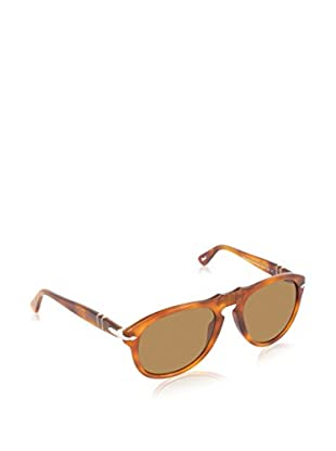 PERSOL Sonnenbrille PO 649 96/33 52 (52 mm) karamell