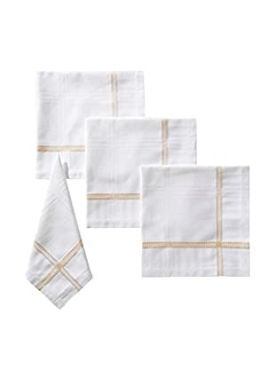 Garnier-Thiebaut Set of 4 Tuileries Napkins