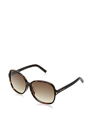 Yves Saint Laurent Sonnenbrille Classic 8/F (59 mm) braun
