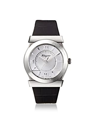 Salvatore Ferragamo Men's FI0980014 Vega Black/Silver Leather Watch