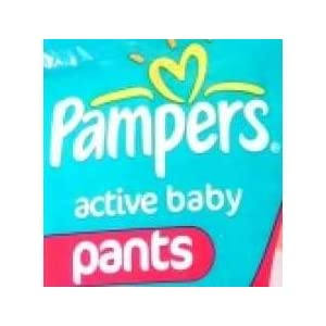 Pampers 1005112 Active Baby Pants Diaper